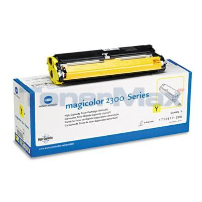 QMS MAGICOLOR 2300 TONER YELLOW 4.5K